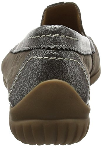 Gabor Shoes Comfort, Mocasines para Mujer Marrón (fumo/anthrazit 31)