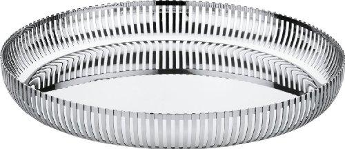 (Alessi PCH04/32 Decorative Tray, Silver)