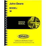 New Service Manual For John Deere M Tractor