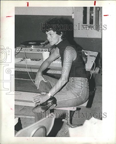 1981 Press Photo Cynthia Parker, Drill Ream Director at Channelview Texas School