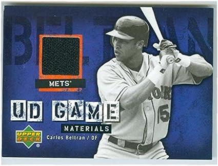 Carlos Beltran Player Worn Jersey Patch Baseball Card New