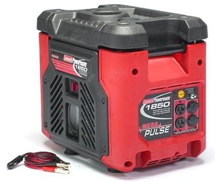 amazon com coleman powermate mega pulse 1 850 watt 3 5 hp 4 cycle rh amazon com coleman powermate 1850 generator user manual coleman powermate sport 1850 plus generator manual