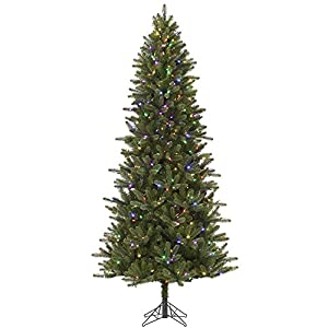 Amazon.com: Vickerman Pre-Lit Virginia Pine Artificial Christmas ...