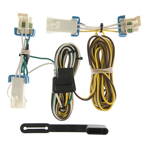 CURT 55383 Vehicle-Side Custom 4-Pin Trailer Wiring Harness for Select Buick Rendezvous, Pontiac Aztek