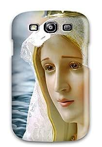Hot 4361872K86425154 Galaxy S3 Cover Case - Eco-friendly Packaging(nossa Senhora De Fatima - Portugal)