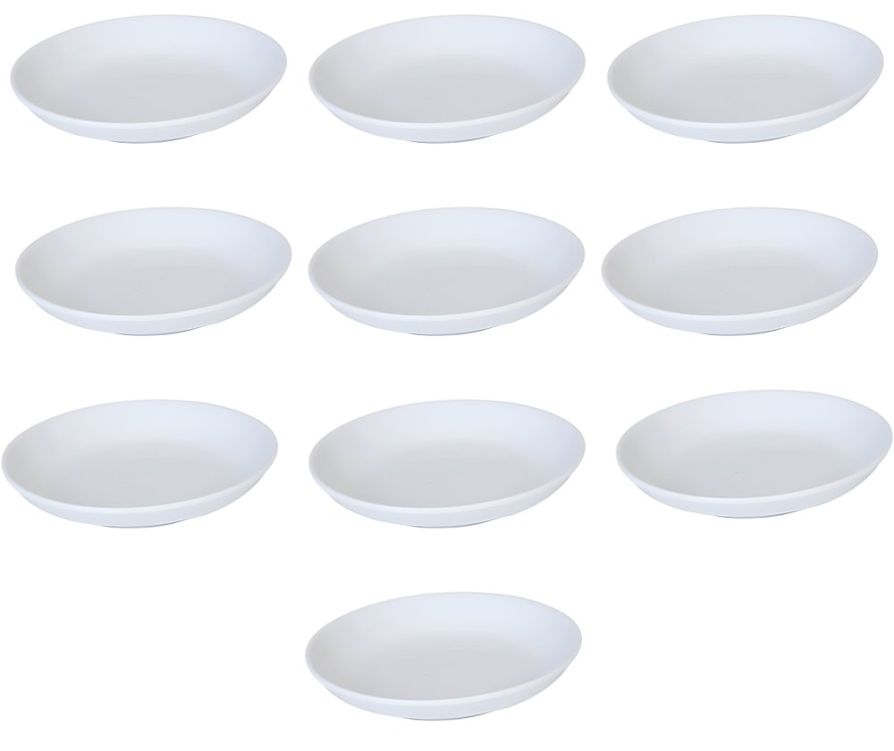 Melamine Sauce Dishes, pack of 10 white (#305AW) 1003TW