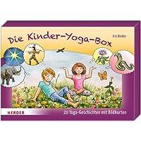 Die Kinder-Yoga-Box: 20 Yoga-Geschichten mit Bildkarten
