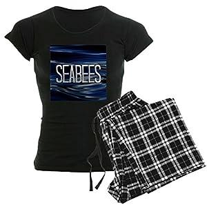 CafePress - Seabees Pajamas - Womens Novelty Cotton Pajama Set, Comfortable PJ Sleepwear by CafePress