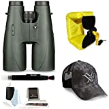 Vortex Optics 15x56 Vulture HD Binocular + Foam Float Strap + Accessory Kit
