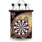 NCAA Texas Tech Red Raiders Magnetic Dartboard