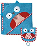 Skip Hop Zoo Towel and Mitt Sets, Owl (Discontinued by Manufacturer)