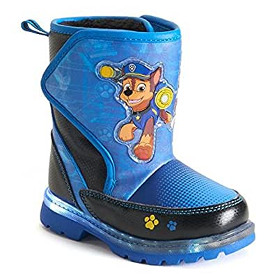 Amazon.com | Paw Patrol Light-up Toddler Boys Cold Weather