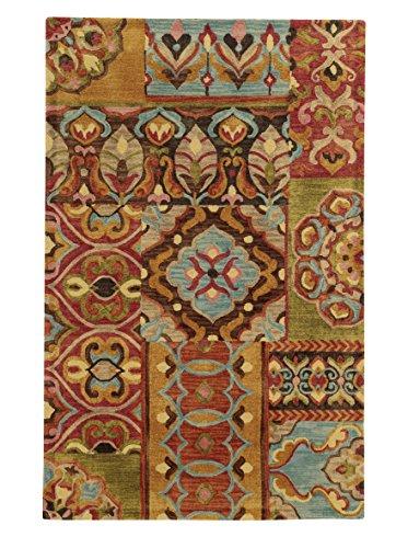 Tommy Bahama Jamison Multicolor Wool Area Rug - 8'x10'