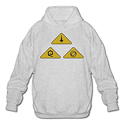 XJBD Men's Star Trek Sweater Ash