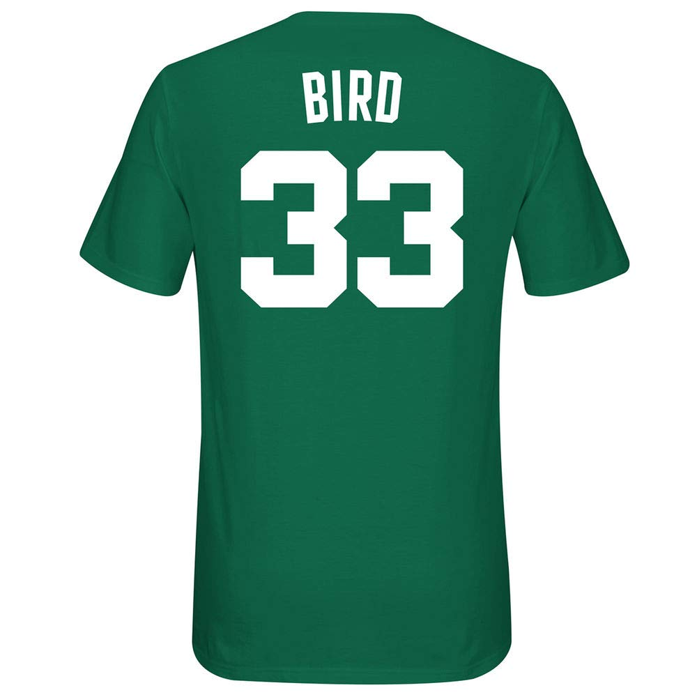 Amazon.com   Outerstuff Larry Bird Boston Celtics  33 NBA Youth 8-20 Green  Official Player Name   Number T-Shirt   Sports   Outdoors e3914c86e