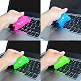 Weilai Keyboard Cleaner Car Cleaning Gel Laptop Universal Dust Gum Computer PC Magic Innovative Super Soft Sticky(Pack…