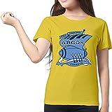 Toronto Argonauts Yellow Women's Sport Shirt For Female Size XL