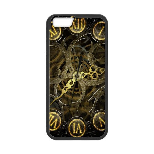 "Fayruz - iPhone 6 Rubber Cases, Gears Hard Phone Cover for iPhone 6 4.7"" F-i5G548"