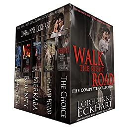 5-in-1 BOXED SET ALERT! Lorhainne Eckhart's sizzling suspense series: Walk The Right Road
