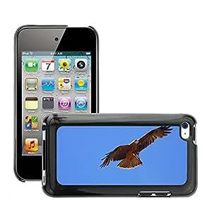 Etui Housse Coque de Protection Cover Rigide pour // M00111633 Raptor Ave Rapaz Fly // Apple ipod Touch 4 4G 4th