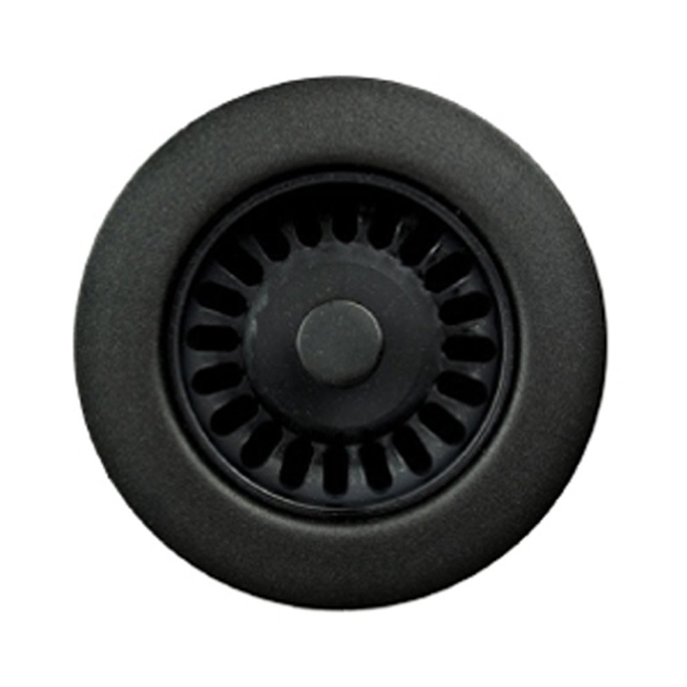 Houzer 190-9565 Disposal Flange For 3.5-Inch Drain Openings Matte Black 2