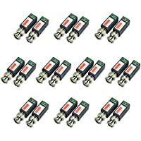 iSmart 10 Pair (20 Pcs) Mini CCTV BNC Video Balun Transceiver Cable IB1015