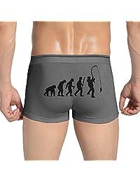 Men's Evolution Of A Fisherman Boxer Briefs Underwear