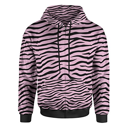 Zebra Print Hoodie - 3