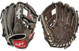 """Rawlings 11.5"""" Heart of The Hide Graphite / Grey Infield Baseball Glove New!"""