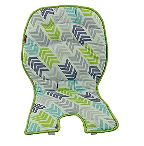 Fisher Price Space Saver High Chair Replacement (DRF75 Lime Blue Gray PAD)