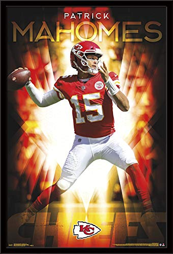 dc77870b439 Image Unavailable. Image not available for. Color: Trends International Kansas  City Chiefs - Patrick Mahomes ...