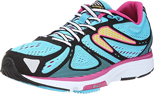 newton-running-shoes-womens-kismet-blue-pink-size-10