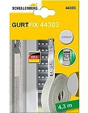 Schellenberg 44303 Band-fix reparatieset Vervang uw rolluik band zonder de rolluikkast te moeten openen, 14 mm breed, kleur beige