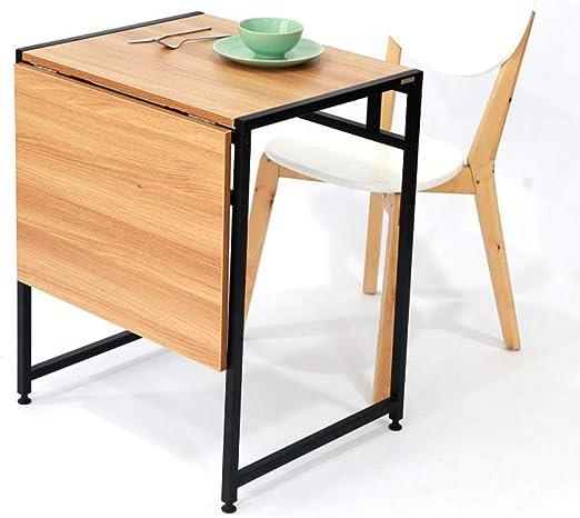Mesa Plegable YH Mesa De Comedor Moderna Y Minimalista para 2 ...