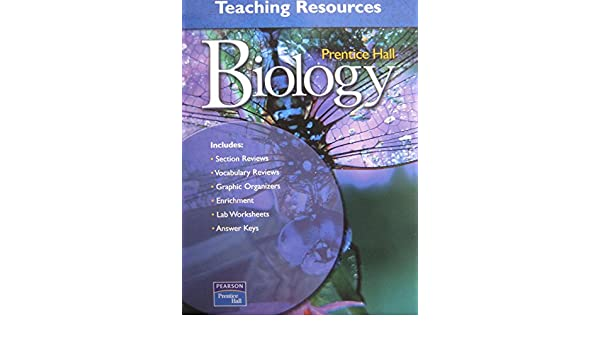 Biology Teaching Resources Prentice Hall 9780131155459
