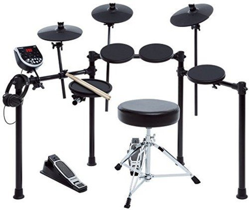 Alesis Seven-Piece Electronic Drum Burst Kit with DM6 Drum Module Includes Drum Throne, Drum Sticks, and FREE Headphones (About Westminster You All)