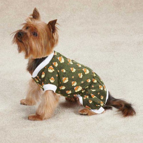 Monkey Business Dog Pajamas Size: Medium (16'' H x 11.5'' W x 0.25'' D), Style: Ty by East Side Collection (Image #4)