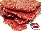 """Made to Order Fire-Grilled Oriental Beef Jerky 8 Ounce (Original Flavor) - Los Angeles Times """"Handmade Gift"""" winner"""