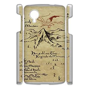 Google Nexus 5 Phone Case White The Hobbit WE9TY660247