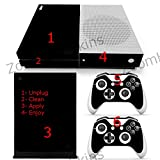Xbox One S Console Skin Decal Sticker Watch Dogs 2 + 2 Controller Skins Set