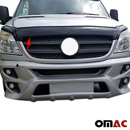 - O.M.A.C. Bug Shield Hood Deflector Guard Bonnet Protector for Mercedes Sprinter W906 2006-2013