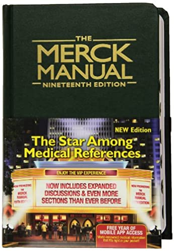 the merck manual 8601400074176 medicine health science books rh amazon com the merck manual online the merck manual professional