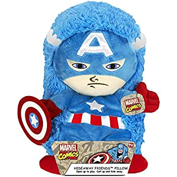 Amazon.com: Marvel Capitán América peluche Hideaway ...