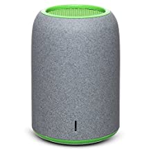 Portable Speakers, ZENBRE M4 Wireless Bluetooth Speakers, Mini Computer Speakers with Enhanced Bass Resonator, built-in Microphone (Green)