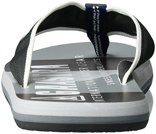 Gaastra Garland - Zapatillas de casa Hombre Mehrfarbig (Grey Multi)