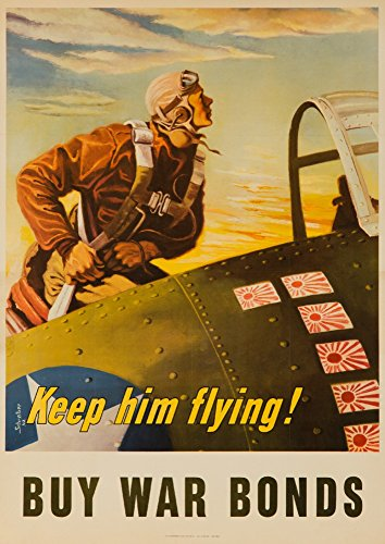 keep him flying poster