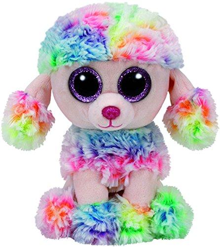 Beanie Boos Rainbow Poodle
