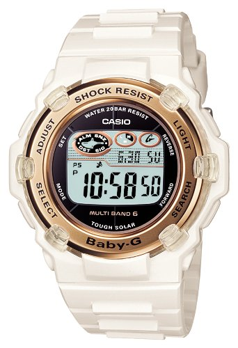 Casio Baby-G Reef Tough Solar Radio Controlled Watch MULTIBAND 6 BGR3003-7A Women's Watch ()