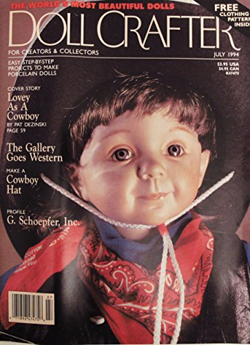 VINTAGE DOLL CRAFTER MAGAZINE JULY 1994 ()