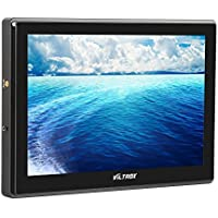 VILTROX DC-90HD 8.9 HD video Monitor Supports 4K HDMI Input/Output 1920x1200 Pixels HD IPS LCD Camera Video Monitor Display HDMI AV Input for DSLR BMPCC with 11 Magic Arm